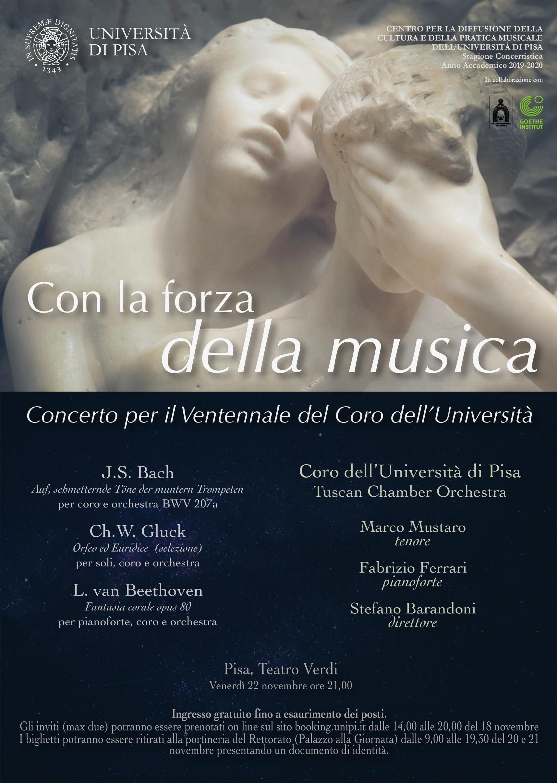 Locandina concerto ventennale