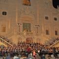 """Con gli ospiti del Coro dell'Università di Ulm per i """"Carmina Burana"""" alla Certosa di Calci, 3 Luglio 2013"""