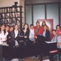 Pausa caffè prima del concerto - Modena 24 Ottobre 2004